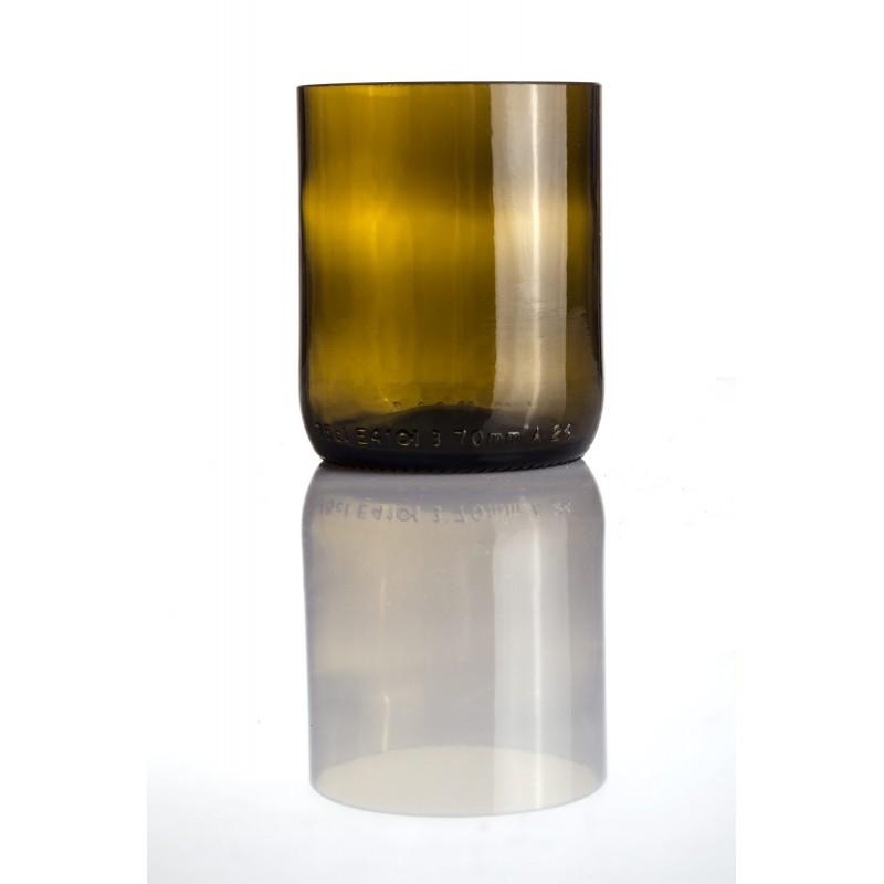 bicchiere verde scuro