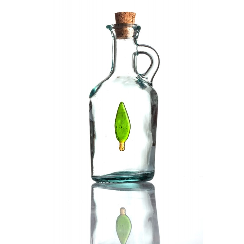 bottle with cypress