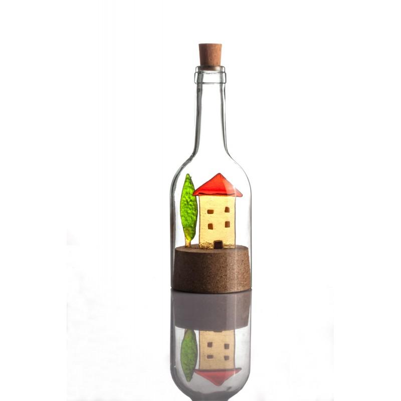paesaggio in bottiglia