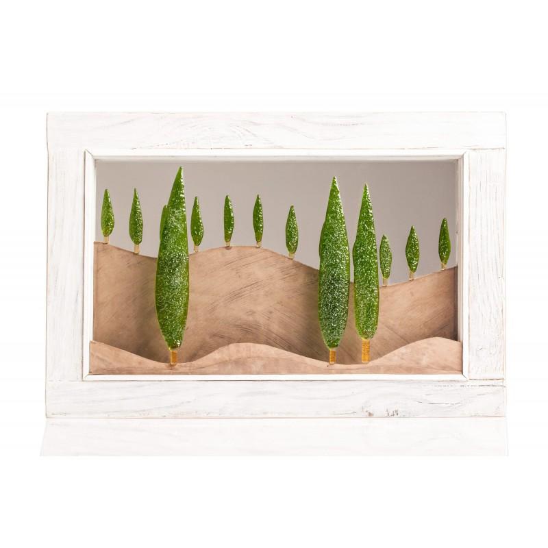 quadro paesaggio toscano