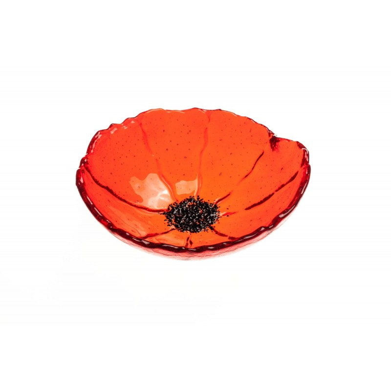 medium poppy bowl
