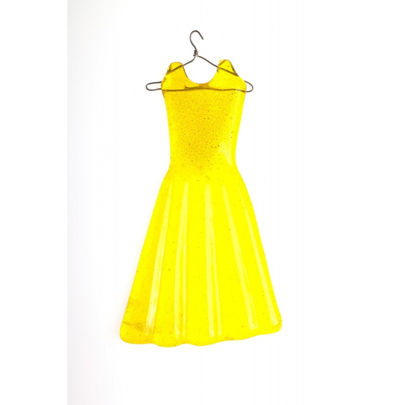 hanging yellow dress
