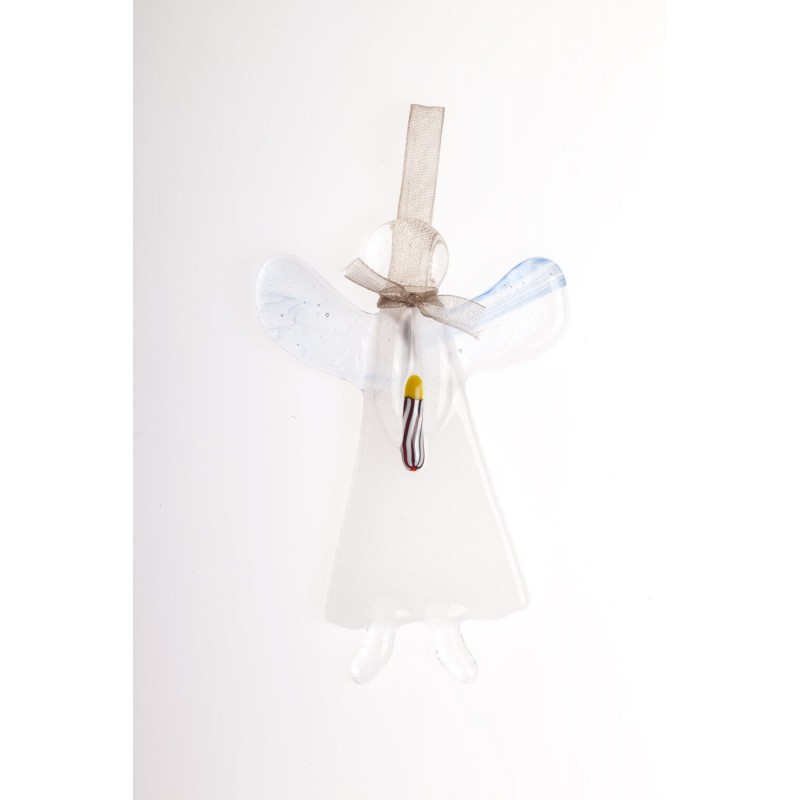 opalescent glass angel